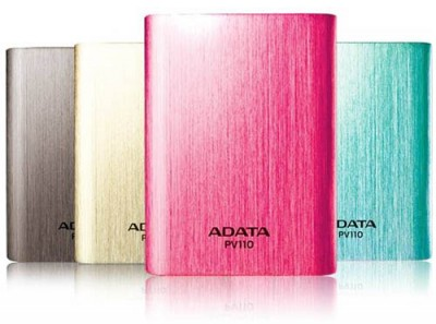 ADATA PV110, Powerbank Dual Charging 10400mAh