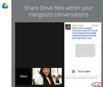 Hangouts Kini Dapat Berbagi File Google Drive dalam VideoCall