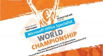 Microsoft dan Certiport Umumkan Kejuaraan Dunia MOS2015